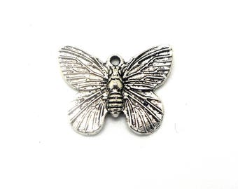 silver color Butterfly charm