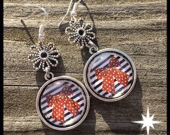 Sailor knot earrings