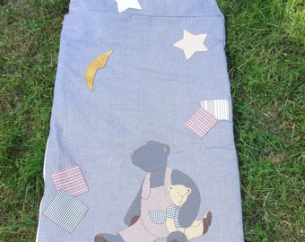 sleeping bag child cotton with applcations