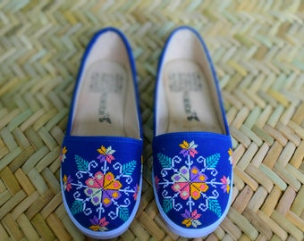 Womens Navy Blue loafers