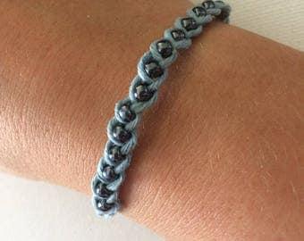 Braided Cotton Bracelet