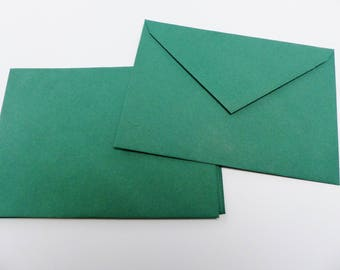 5 colorful dark green 16 X 11.5 cm green envelope C6 envelopes