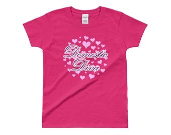 Domestic Diva T-Shirt - 100% Cotton - Multiple Colors Available