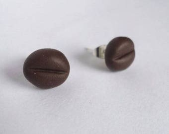 Chips in polymer clay coffee beans