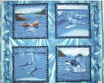 South Pacific animal patchwork 95081 fabric
