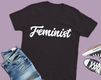 feminism shirt, feminist vneck shirt, feminism top, feminist shirts, feminism tshirt, feminism t-shirt, feminist tee, feminist gift
