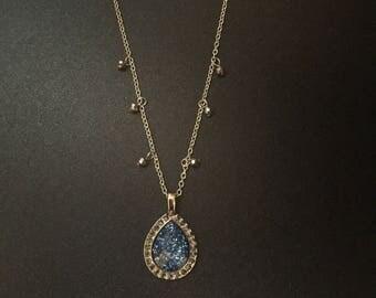 Blue Accent Necklace