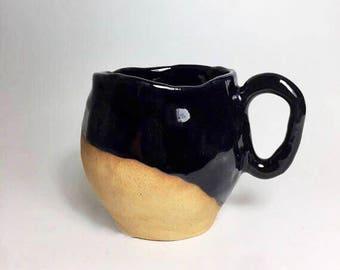 Dark blue mug ||