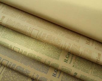 3pcs Kraft Paper / Packaging Paper / Kraft Wrapping Paper (BP9)