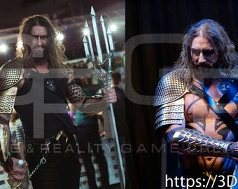 Aquaman stuff 3d model cosplay