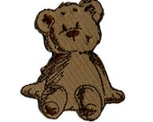 fusible patch Teddy bear