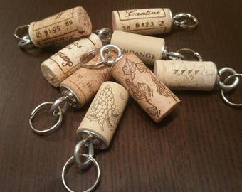 Various Cork Keychains