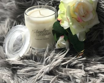 AngelRox Candles - 250grams 40+ hour burn time - Home made Soy Candles all Australian products used