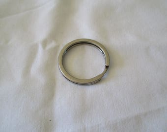 set of 2 rings for key chain