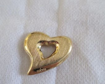 steel metal heart pendant
