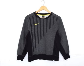 Nike Swoosh Small Logo Embroidery Pullover Jumper Sweatshirt