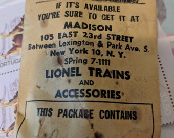 Madison Hardware Original small parts Envelope