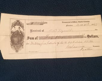 Payment for Civil War service