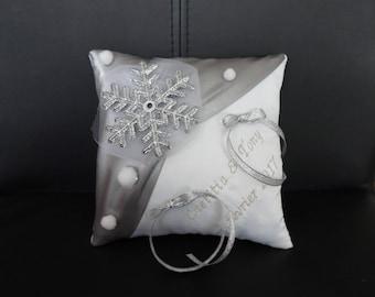 cushion theme winter snowflake