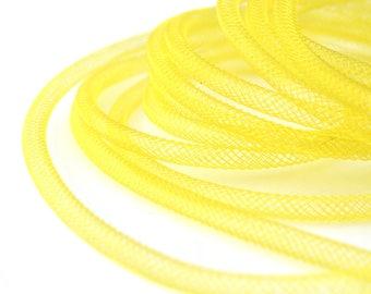 5 M cord FishNet tubular yellow 4mm color