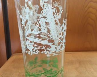 Davy Crocket glass 1950
