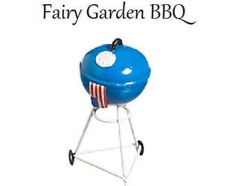 Fairy Garden BBQ, Miniatures, Dollhouse