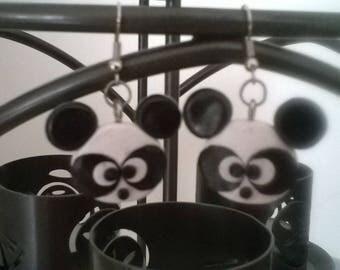 Cute little Panda heads.