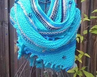Handmade wool shawl, woman shawl, wool shawl, shawl, Stola