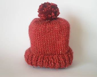 Woman t thick and warm Knit Beanie