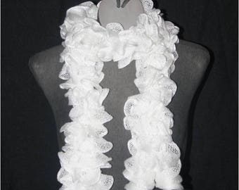 Adult frou-frou polyester scarf