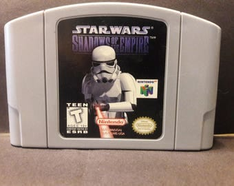Star Wars - Shadows of The Empire(Looses)