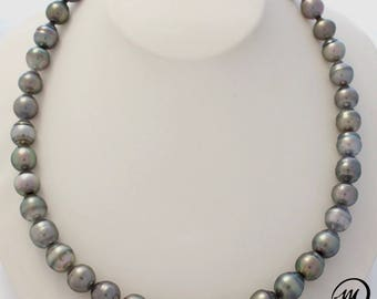 MPT1812/EPP, Tahitian Pearl Necklace