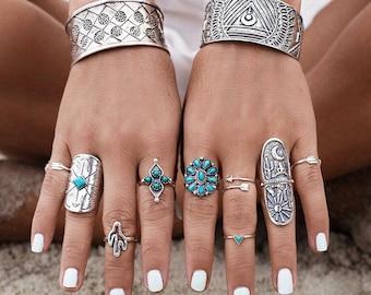 The Bohemian Rings Set