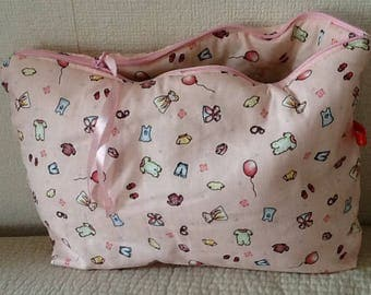 Kit Cotton Baby Pink all oitine for diapers