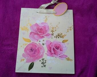 Pink bag 21, 5 x 25, 5