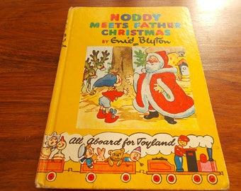 hb circa 1950/60s ? Noddy meets Father Christmas enid blyton
