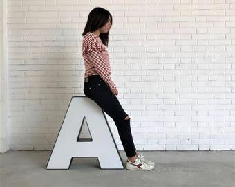 """Light Letter """"A"""""""