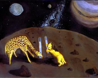Stargazers - Original Artwork - Acrylic Painting