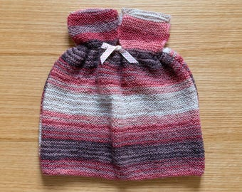 Little multicolored dress - acrylic and wool