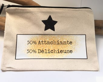 50 Attachiante 50 Delichieuse! Bohemian spirit … clutch french handmade