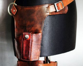 Inspired Tomb Raider (2013) Leather Holster
