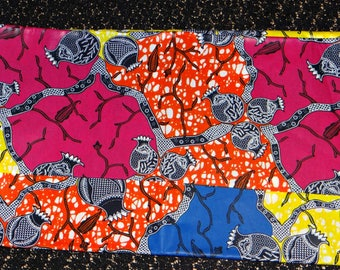 Ankara color combo wax print / java / African print