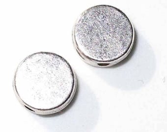 2 silver 7mm - MP196 25pcs