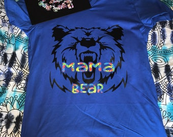 Mama bear autism awareness
