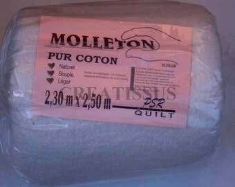 Pure cotton 2.3 m x 2.5 m fleece