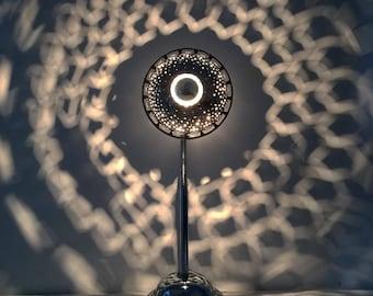 "Lamp ""Flower2"" unique industrial style"
