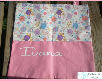 """napkin for child's personalized (name) """"as the adults finally almost...!"""""""