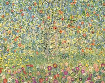ORIGINAL design, durable and WASHABLE PLACEMAT - Gustav Klimt - Apple - classic.