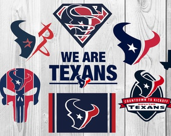 Houston Texans SVG, Houston Texans DXF, PNG cutting file, Printable, T-shirt Design, Scrapbooking Clipart