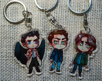 Supernatural Acrylic Charms *Seconds*